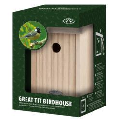 Nestkast Koolmees in Giftbox-0