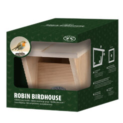 Nestkast Roodborst in Giftbox-0